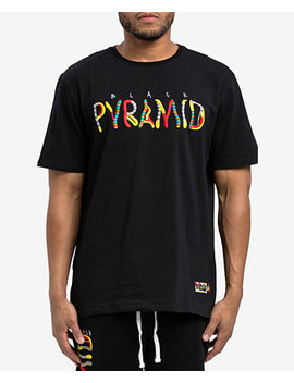 Men's Whimsical Logo Graphic T Shirt by Black Pyramid