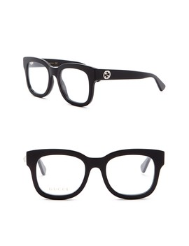 50mm Square Optical Frames by Gucci