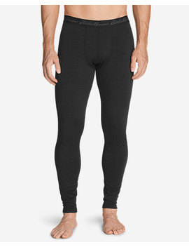 Men's Heavyweight Free Dry® Merino Hybrid Baselayer Pants by Eddie Bauer