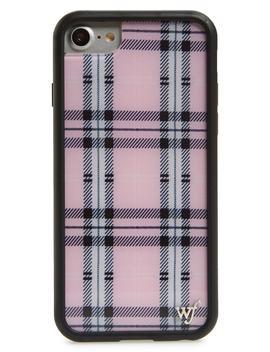 Tartan Plaid I Phone 6/7/8 Case by Wildflower