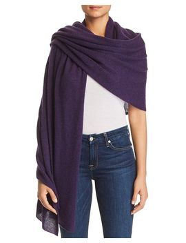Lightweight Cashmere Travel Wrap   100 Percents Exclusive by C By Bloomingdale's