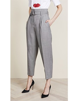 High Waist Tie Pants by Edition10