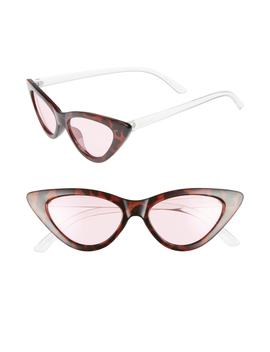 55mm Extreme Cat Eye Sunglasses by Circus By Sam Edelman