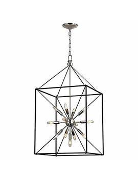 glendale-13-light-chandelier---polished-nickel-finish by hudson-valley-lighting