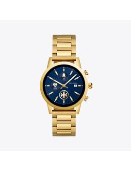 Gigi Touchscreen Smartwatch, Gold Tone Stainless Steel, 40 Mm by Tory Burch
