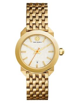Women's Whitney Gold Tone Two Hand Watch, 35mm by Tory Burch