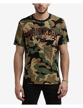 Men's Logo Camo T Shirt by True Religion