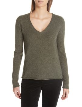 Cashmere V Neck Sweater by Atm Anthony Thomas Melillo