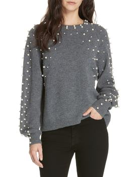 Nilania Beaded Sweater by Joie