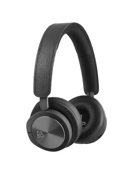 B&O Play H8i On Ear Noise Cancelling Bluetooth Headphones With Mic   Black by B&O Play