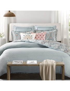 Echo Design Sterling Reversible Duvet Cover Set & Reviews by Echo Design™