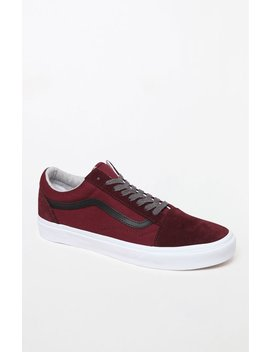 Vans Jersey Lace Old Skool Port Shoes by Pacsun