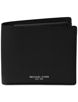 Men's Harrison Leather Billfold Wallet by Michael Kors