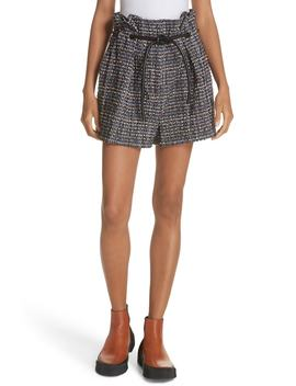 Paperbag Waist Tweed Shorts by 3.1 Phillip Lim