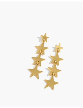 Star Drop Earrings by Madewell