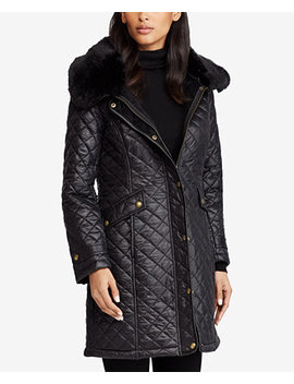 Diamond Quilted Coat by Lauren Ralph Lauren