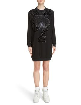 Tiger Sweater Dress by Kenzo