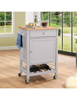 Copper Grove Ards Grey Mdf Kitchen Cart by Copper Grove