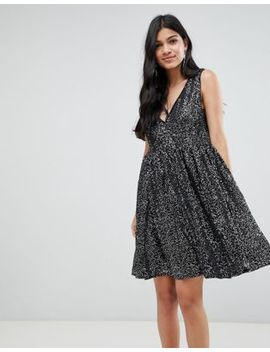 Deby Debo Techna Sequined Mini Dress by Dress