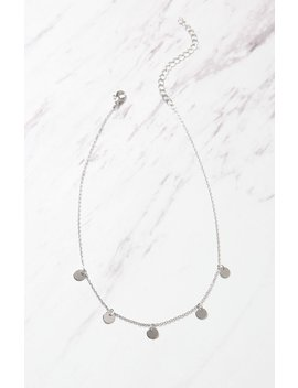 La Hearts Simple Disc Choker by Pacsun