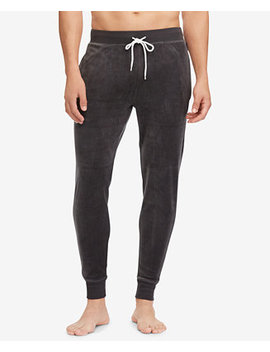 Men's Velour Jogger Pants by Polo Ralph Lauren