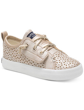 Toddler & Little Girls Crest Vibe Perforated Sneakers by Sperry
