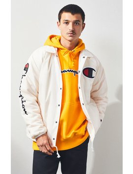 Champion Sherpa Coach Jacket by Pacsun