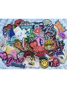 Patches Set 10pcs Mixed Patches, Wholesale Patch, Patch A Lot, by Etsy
