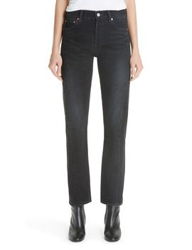 Twist Hem Straight Leg Jeans by Balenciaga