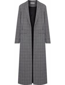 Angela Checked Wool Blend Coat by Alice + Olivia