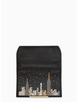 Make It Mine Cityscape Flap by Kate Spade