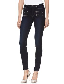 Transcend   Edgemont High Waist Ultra Skinny Jeans by Paige