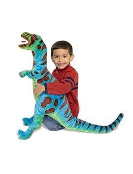 Melissa & Doug Giant T Rex Dinosaur    Lifelike Stuffed Animal (Over 2 Feet Tall) by Melissa & Doug