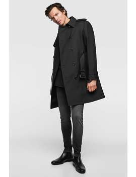 Water Repellent Trench Coat  View All Premium Man by Zara