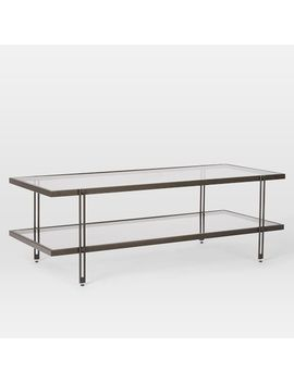 Fulton Coffee Table, Antique Bronze by West Elm
