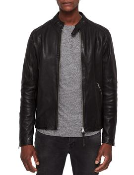 Cora Leather Jacket by Allsaints