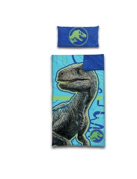 Jurassic World Slumber Side Zip Sleeping Bag & Pillow Set by Jurassic World
