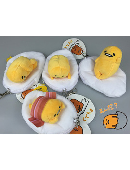 Gudetama Eggs Toy Plush Coin Bags Kids Plush Purse Wallets Bags Girls Retractable Card Package Gifts Cartoon Plush Toys Xpc by Torankusu