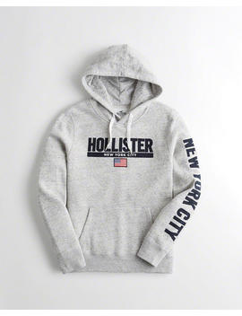 New York City Graphic Hoodie by Hollister