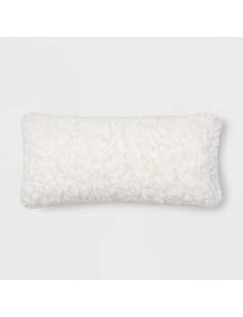 Sherpa Throw Pillow   Threshold™ by Shop Collections