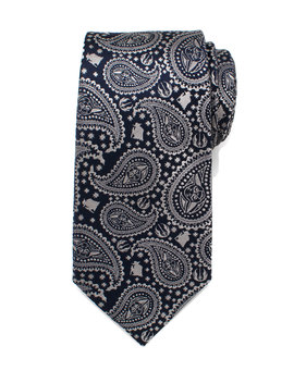 Star Wars Yoda Paisley Print Silk Tie by Cufflinks Inc.