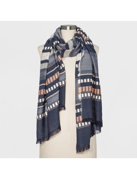 Women's Oblong Scarf   Universal Thread™ Gray by Universal Thread