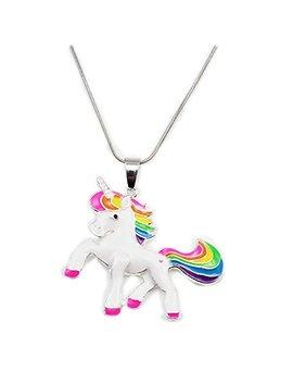 Artvine Unicorn Birthday Gifts Necklace Baby Girl Chunky Necklace by Artvine