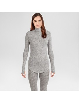 Warm Essentials® By Cuddl Duds® Women's Sweater Knit Mock Neck Thermal Top by Shop This Collection