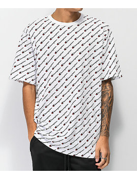 Champion Heritage All Over Print White T Shirt by Champion