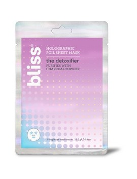 Bliss The Detoxifier Foil Sheet Mask Facial Treatments   .9oz by Bliss