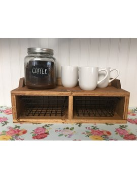 Small Countertop Shelf|Coffee Bar by Etsy