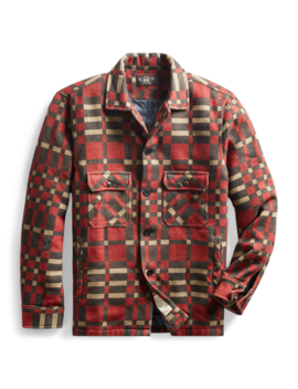 Jacquard Overshirt by Ralph Lauren