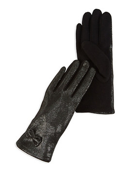 Shimmer Knit Gloves by Rainbow