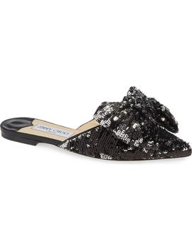 Georgia Sequin Bow Mule by Jimmy Choo